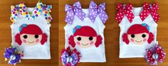 Lalaloopsy+Coral+Sea+Shells+tank+by+HappyLittleRy+on+Etsy,+$30.00
