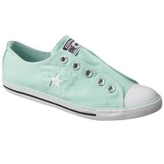 Women's Converse® One Star®  Sneaker - Mint - I think these are adorable and a nice and unexpected color for a casual outfit.