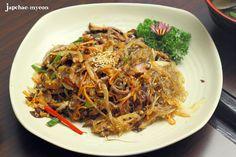 Famous korean noodle