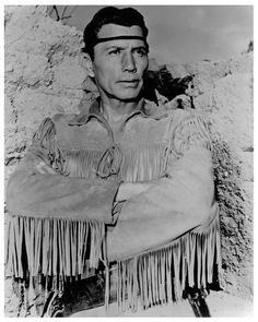 Jay Silverheels, who played Tonto on the old Lone Ranger show.  I loved him, barely looked at Clayton Moore's Ranger
