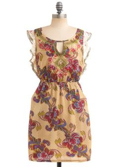 Pretty spring dress. Cute with boots or heels.