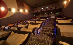 The Sunway Pyramid mall is filled with comfy fluffy love seats