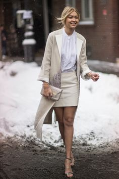 elegance prevails no matter the weather
