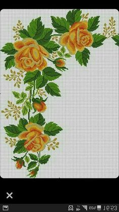 This Pin was discovered by ahm Cross Stitch Tree, Just Cross Stitch, Cross Stitch Borders, Modern Cross Stitch Patterns, Cross Stitch Flowers, Cross Stitch Charts, Cross Stitch Designs, Cross Stitching, Cross Stitch Embroidery
