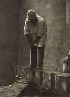 Constantin Brancusi Self-Portrait, c. 1924 vintage silver print 9 x 7 in. Modern Sculpture, Sculpture Art, Constantin Brancusi, People Art, Portraits, Face Art, Art Studios, Artist At Work, Les Oeuvres
