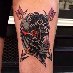 Luke Jinks - London Traditional Tattoo Artist