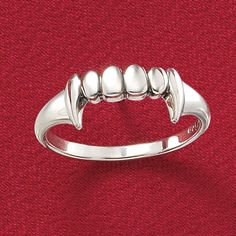 Fangs Ring ~ $19.99 at pyramidcollection.com