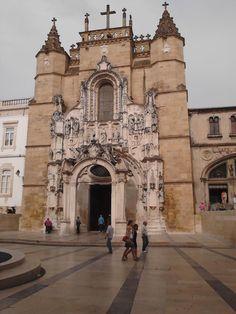 Igtreja de Santa Cruz, Coimbra - Portugal