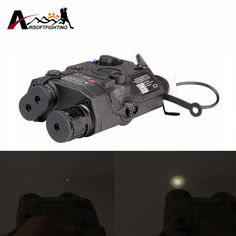44.67$  Buy now - http://ali0h0.shopchina.info/1/go.php?t=32802540619 - Element EX396 LA-5 UHP Battery Case With Red Laser IR Lens LED Flashlight Tactical Hunting Shotgun Aiming Light Battery Case 44.67$ #aliexpress