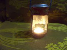 Idei creative: Cum sa faci felinar pentru lumanare Lava Lamp, Candle Holders, Table Lamp, Candles, Home Decor, Table Lamps, Decoration Home, Room Decor, Porta Velas