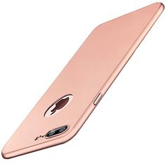 Anccer iPhone 7 Plus Case [Colorful Series] [Ultra-Thin] [Anti-Drop] Premium PC Material Slim Full Protection Cover for iPhone7 Plus 5.5'' (Smooth Rose Gold) - Elegant and Unique 1.Exquisite Smoothly Shield Hard Cover Skin Shockproof Slim Cases design for iPhone 7 Plus, fashion and new flavor. 2.Premium PC material: environmental and durable. 3.Smooth surface, skin and comfortable feeling. 4.A little higher than your cell phone's camera, protect your ce...