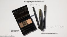 Updated Brow Post - Featuring New SUQQU Products
