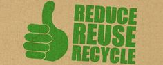 Reduce Reuse Recycle logo text green thumb