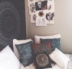 chalkboard and white boho bedroom - Google Search