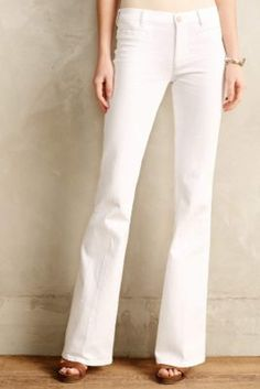 MiH Marrakesh Flare Jeans White
