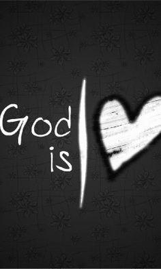 God is liefde.