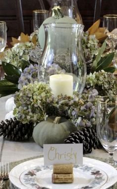 Thanksgiving Tablescapes and ideas here.