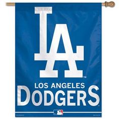 """Los Angeles Dodgers 27""""x37"""" Banner"""