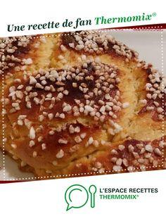 Brioche version light au fromage blanc sans beurre par cuisinerpassion. Une recette de fan à retrouver dans la catégorie Desserts & Confiseries sur www.espace-recettes.fr, de Thermomix<sup>®</sup>.
