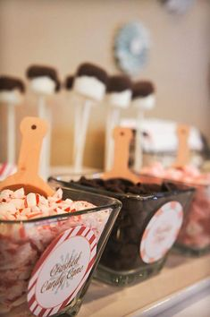 More hot chocolate bar ideas