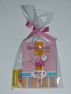 Kit para colorir Peppa princesa