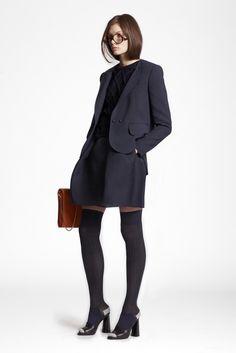 Carven Pre-Fall 2013 Fashion Show - Alexandra Martynova