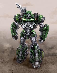 Transformers: Hound by Diovega.deviantart.com on @deviantART