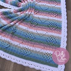 I :heart: Granny is a super sweet and super snuggly baby blanket. Its hearty texture is created using post stitches in a similar manner as crochet cables. The pattern is somewhat advanced, but if you're familiar with hooking up cables you shouldn't have a problem.