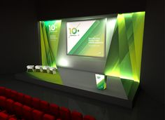 Set Design for 10th ANF Congress at Centro de Congressos de Lisboa.