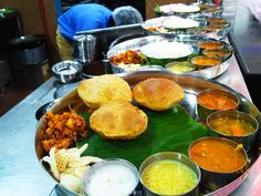 South Indian meal photo