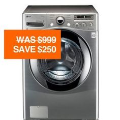 3.6 cu. ft. High Efficiency Front Load Steam Washer in Graphite Steel-WM2655HVA at The Home Depot