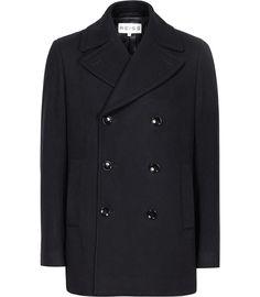 Buy Reiss Roman Wool Rich Peacoat ed0255f65