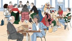 Clare Mallison was asked to illustrated the centre spread of The Financial Times Budget Special. Kingston University, Financial Times, East London, Fashion Art, Budgeting, Anna, Spring, Illustration, Art Styles