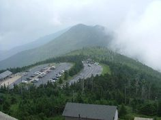 Mt. Mitchell, NC....it's foggy every time I go!