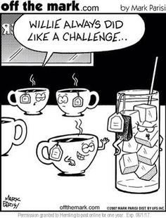 Fun for a Friday. Have a great weekend! #tea