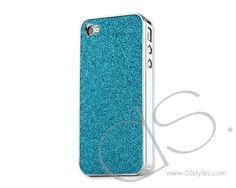 Glitter Series iPhone 4 and 4S Electroplate Cases - Blue