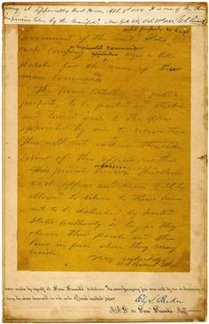 The original draft of Gen. Ulysses S. Grant's surrender terms given to Gen. Robert E. Lee at Appomattox, 150 years old this week
