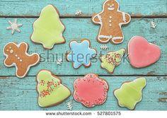 Christmas Gingerbread Banco de Imagens, Fotos e Vetores livres de ...