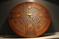 Tandy Targe | Highland Targe | Scottish Targes & Celtic Leatherwork