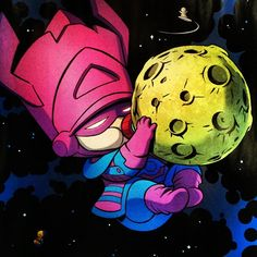 Baby Galactus by Skottie Young