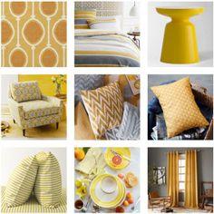 Marigold, Sunflower & Buttercup Inspiration Board