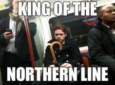 King of the Northern Line. Poor Richard Madden....