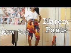 ✄ How To | Make harem pants