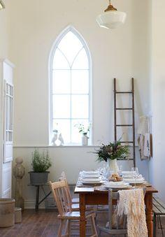 Inside a floral designer's gorgeous converted rural church