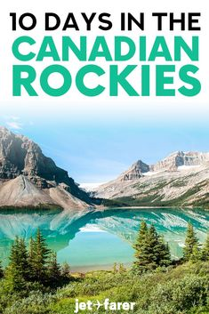 This Canadian Rockies road trip itinerary hits all of the most jaw-dropping spots in the Canadian Rockies! Includes TONS of Canadian Rockies travel tips hiking recommendations road trip tips and more for Banff Jasper and Yoho National Parks. Alberta Canada, Banff Canada, Canada Travel, Travel Usa, Canada Trip, Quebec, Vancouver, Toronto, Yoho National Park