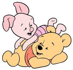 Baby piglet n baby pooh Pregnancy Scrapbook, Baby Piglets, Image Mix, Disney Clipart, Pooh Bear, Eeyore, Disney Wallpaper, Tatoos, Hello Kitty