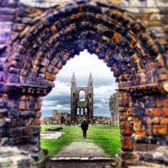 Love this of St Andrews Cathedral by ronschott, via @Patricia Nickens Derryberry St Andrews