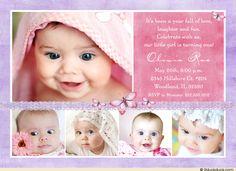 Invitation Card Design For Baptism Baptism Invitation For Boys, Christening Invitations Girl, Birthday Invitations, Baby Baptism, Baptism Party, Christening Party, Baptism Ideas, Invitation Card Design, Invitation Cards
