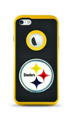 f0f89a9c1d8 iPhone 5 5S SE FLEX SIDELINE Case for NFL Pittsburgh Steelers - (A Grade)