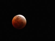 """On April 15th, 2014, around 1am MST, a rather rare astronomical event is taking place: the """"blood moon."""" This particular event will the first of four lunar eclipses to happen over the course of the next two years."""
